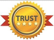 Website trust badge