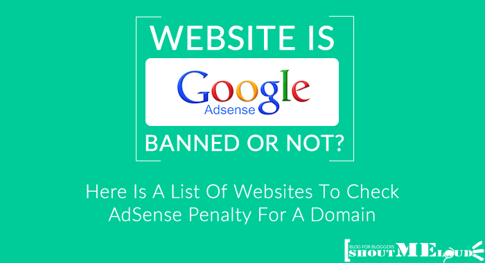 Check AdSense Penalty For A Domain