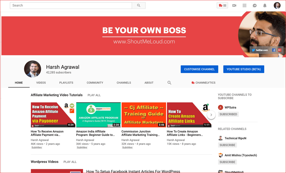 How to Add YouTube Subscribe Button on your Blog (with Pictures)