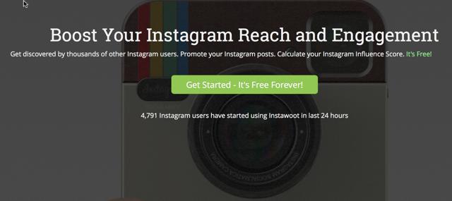Instawoot instagram tool