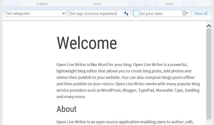 5 User-friendly Windows Live Writer Alternative