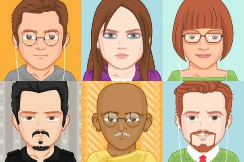 Pick a Face 500x333 5 Websites to Create a Cartoon Character of Yourself