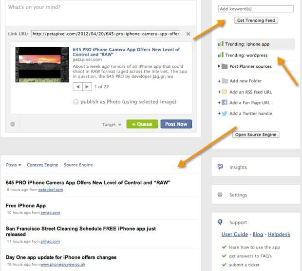Post Planner content engine PostPlanner Review : Perfect Marketing Tool for Facebook