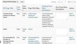 SEO Extended : Bulk Edit Meta Title and Description in WordPress