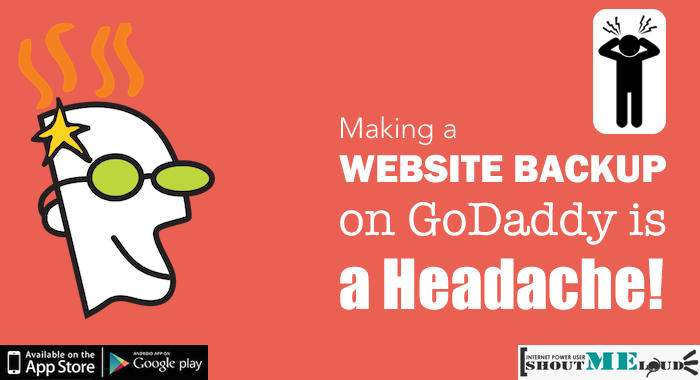 Website Backup on Godaddy