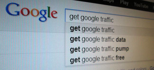 Gain Google traffic