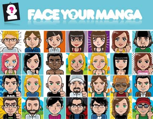 face.your .manga  5 Websites to Create a Cartoon Character of Yourself