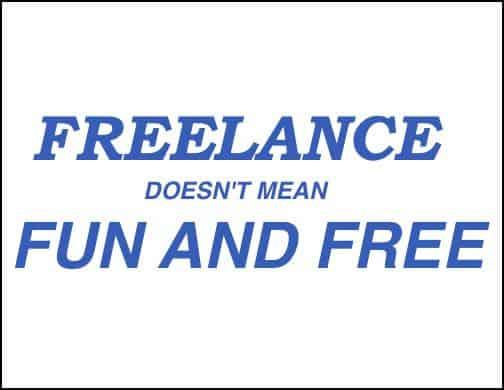Freelancing career choice