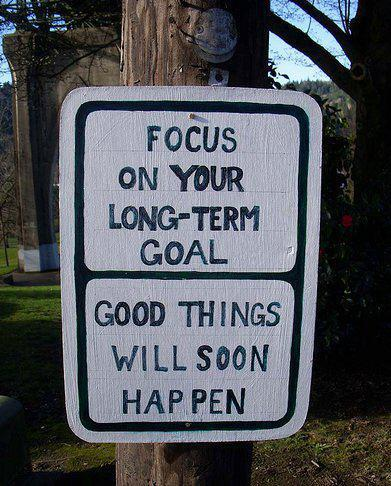 Focus on your business goals