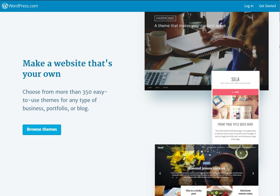 what is a website platform