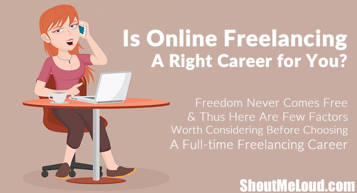 Is Online Freelancing Good Career