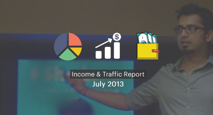 ShoutMeLoud Monthly Income Report: July 2013