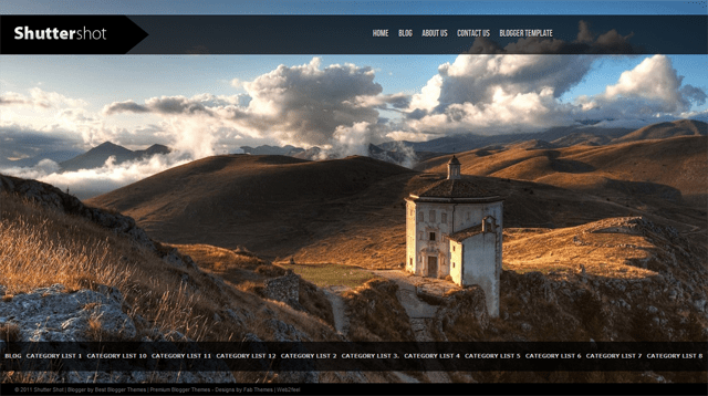 Shutter Shot 170019 full screenshot 10 Portfolio WordPress Themes for Photographers