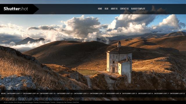 ShutterShot-Wordpress