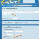Using Long Tail pro 150x150