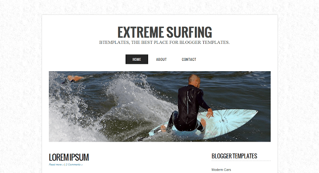 extreem suffer 10 Premium Looking Free Blogger Templates Of 2014