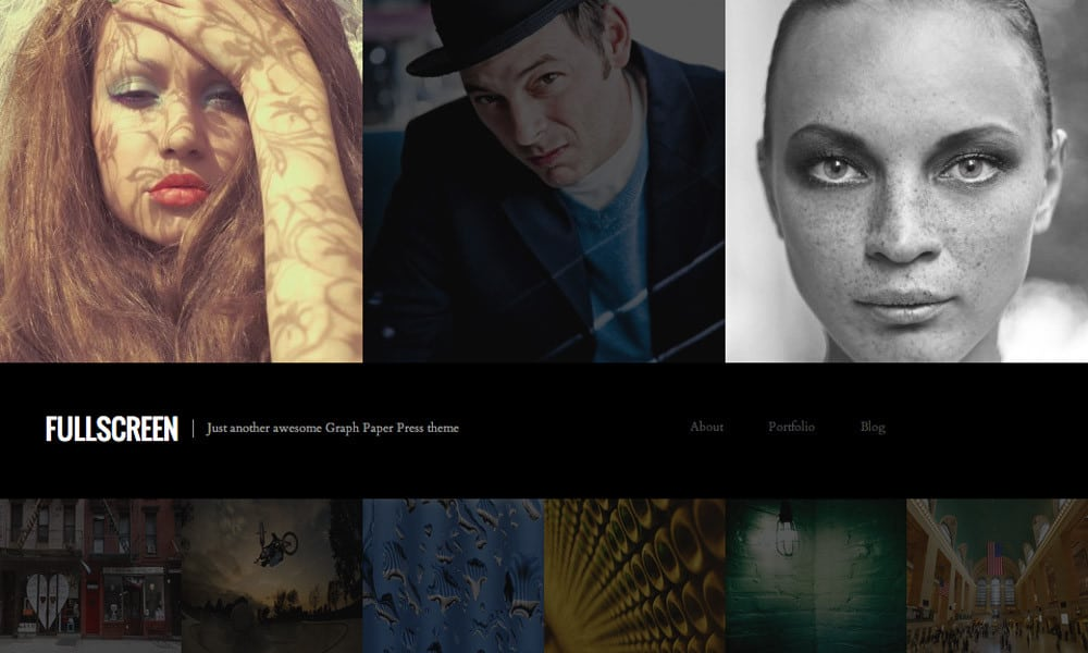 fullscreen3 1000x600 10 Portfolio WordPress Themes for Photographers