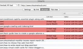 Integrity : Desktop Tool to Find Broken links For Huge Websites