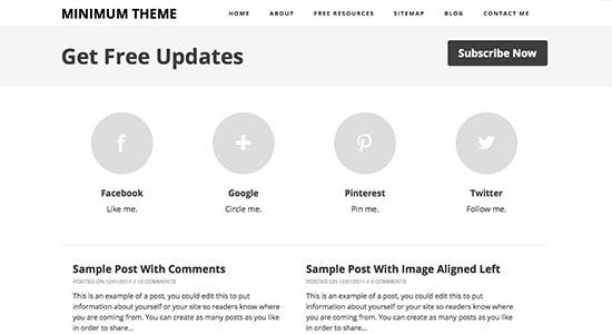 minimum 10 Premium Looking Free Blogger Templates Of 2014