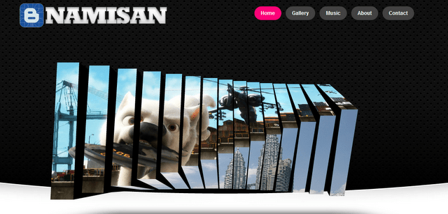 namisan 10 Premium Looking Free Blogger Templates Of 2014