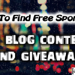 Free Sponsors for Blog Contests 150x150