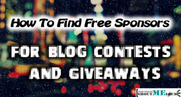 How To Find Free Sponsors For Running Contests On Your Blog