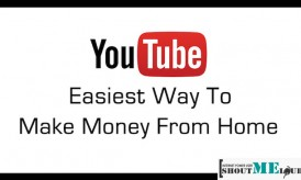 YouTube Easiest Way To Make Money From Home