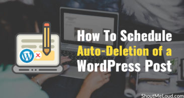 How To Schedule Auto-Deletion of a WordPress Post: Cool Trick!