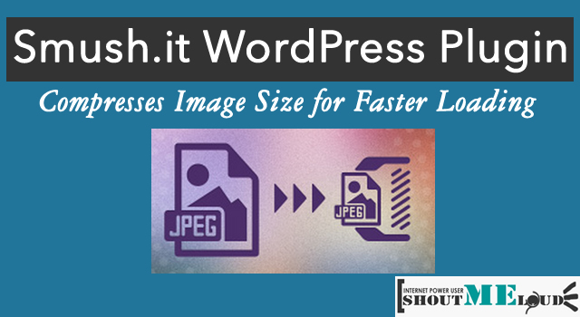 Smush it WordPress Plugin