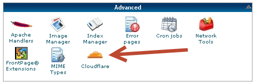CloudFlare on Cpanel