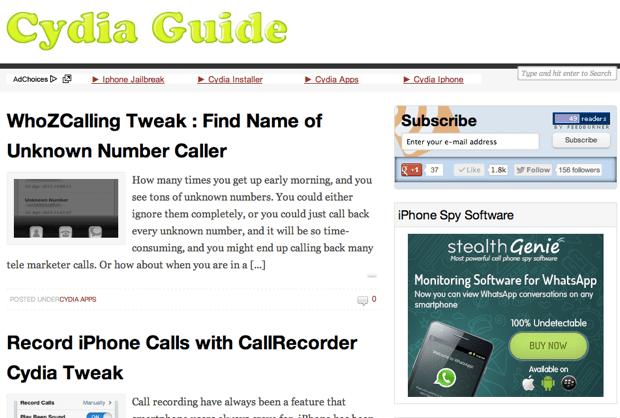 niche site example