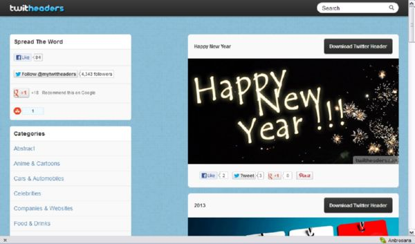 10 Website Twitter Cover 6 5 Free Websites to Download Twitter Headers