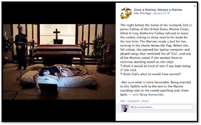 A matter of honour facebook viral photo