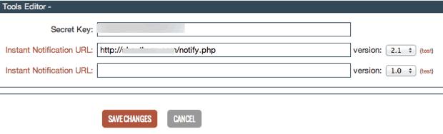 Clickbank Secret API Key