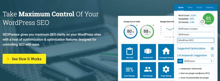 Download SEOPressor WordPress Plugin For Only $9/month