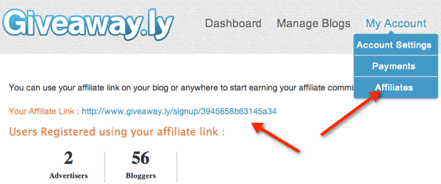 Giveawayly affiliate links GiveAway.Ly Affiliate Program: EveryThing You Need To Know