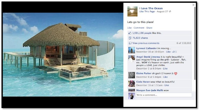 Heaven in the midst of Sea Top 21 Viral Photos On Facebook (I Bet You Didn't Know Most of them)