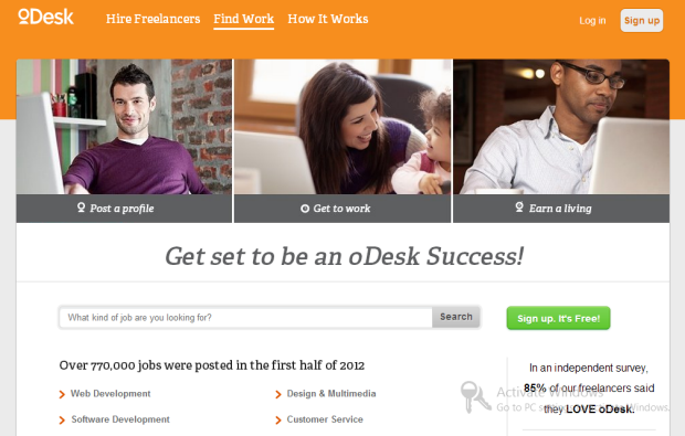 Odesk Virtual Assistant Jobs