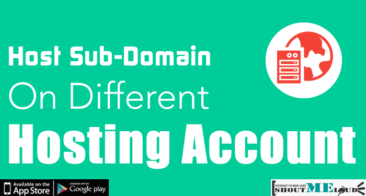 How To Host Sub-Domain On Different Hosting Account