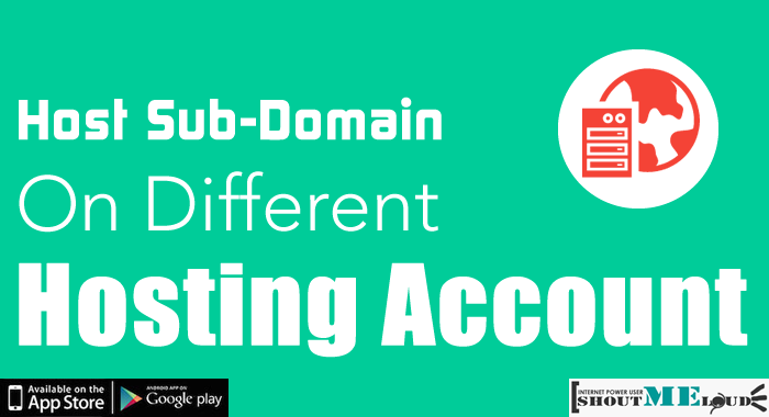 Sub Domain on DIfferent Hosting