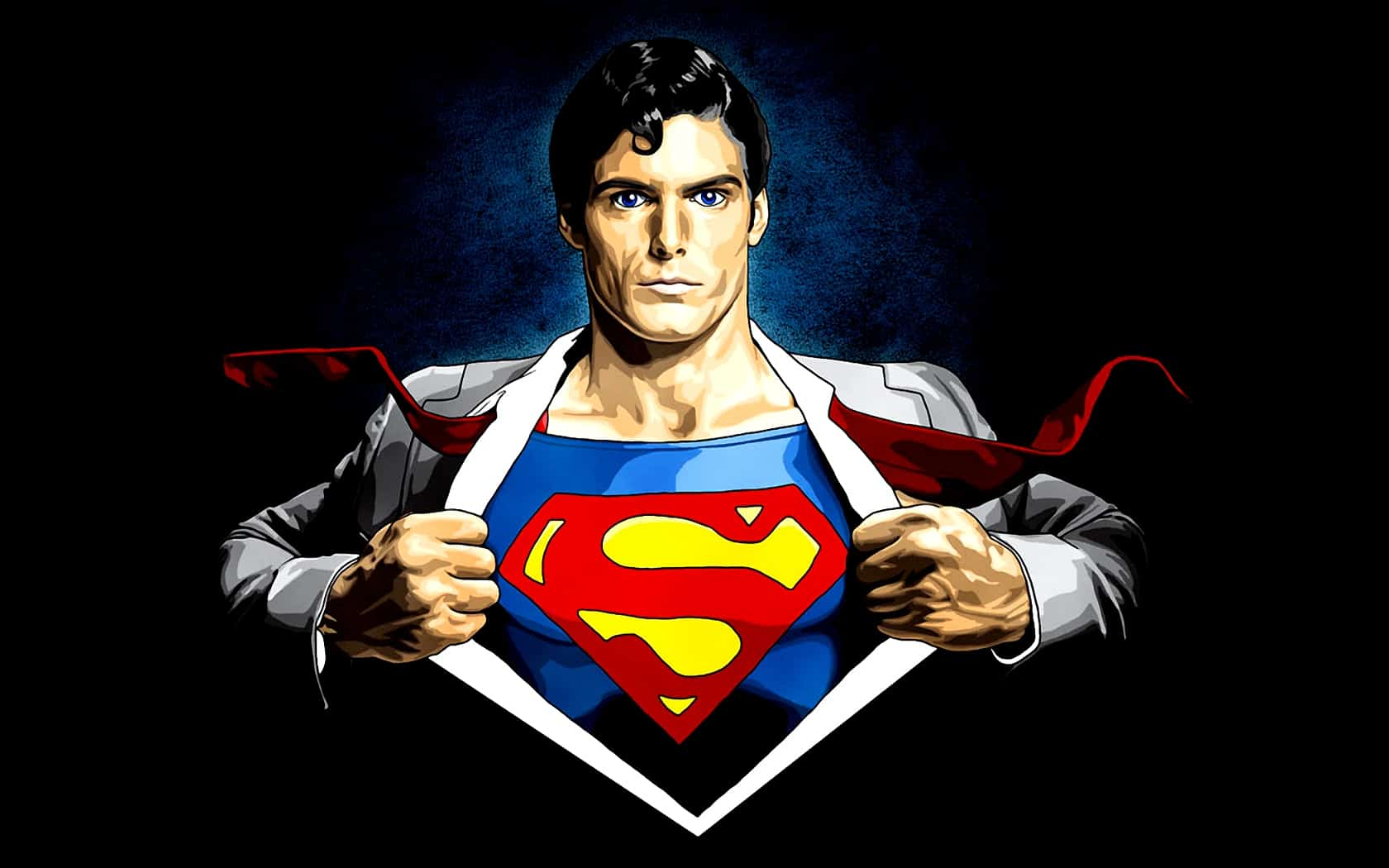 Superman Logo Cartoon HD