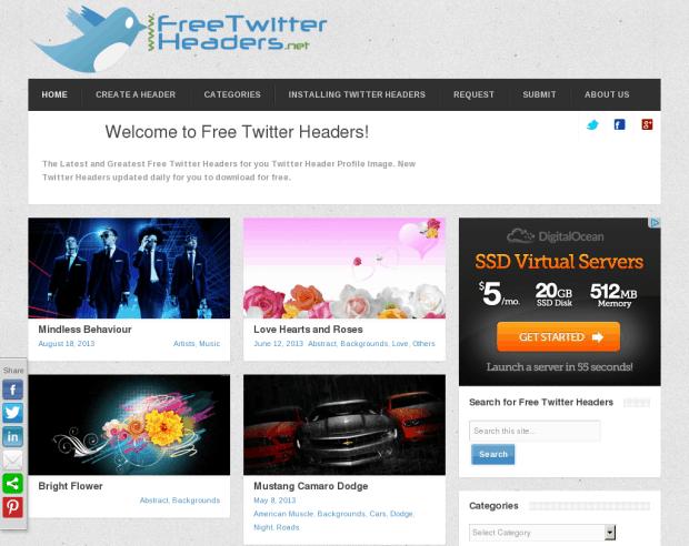 Free Twitter Headers