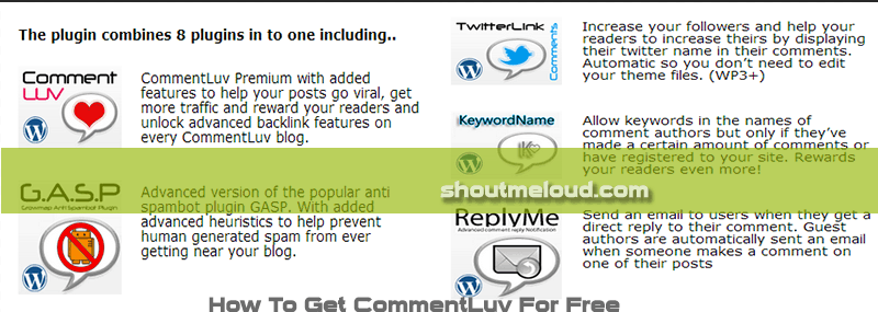 commentluv premium pic How To Get CommentLuv Premium Plugin For Free