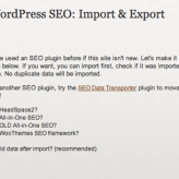 How To Migrate From All In One SEO To WordPress SEO Plugin