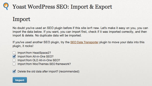 migrate to SEO by yoast How To Migrate From All In One SEO To WordPress SEO Plugin