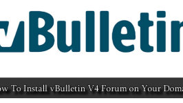How To Install vBulletin V4 Forum on Your Domain
