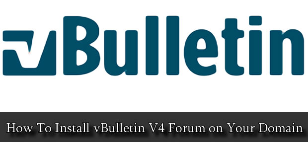 vbulletin install How To Install vBulletin V4 Forum on Your Domain