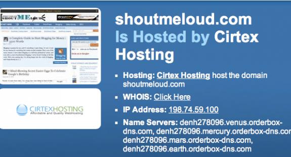who is hosting website