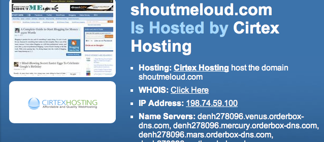 How to Find out Which WebHost Is Hosting a Website