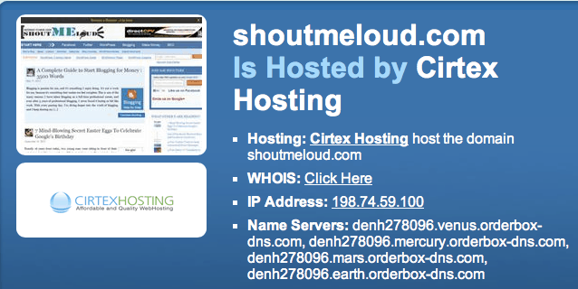 who is hosting website How To Find Which WebHost is Hosting A Website